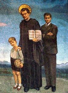 Mosaique avec Jean Bosco Turin 2